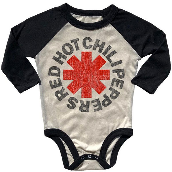 Red Hot Chili Peppers Babygrow - Distressed Logo
