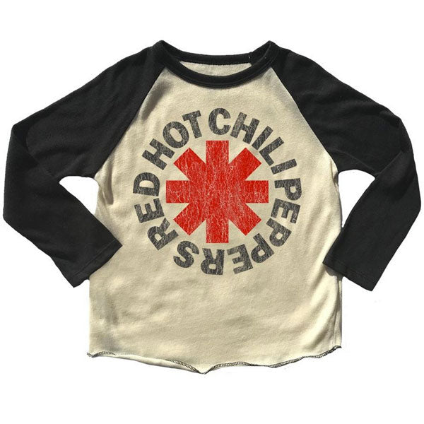 Red Hot Chili Peppers Kids  Long Sleeve T-Shirt - Chilis Logo
