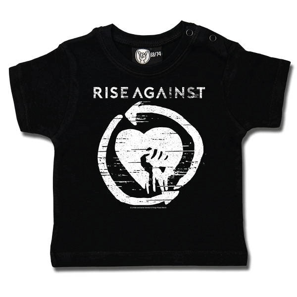 Rise Against Baby T-Shirt - Black