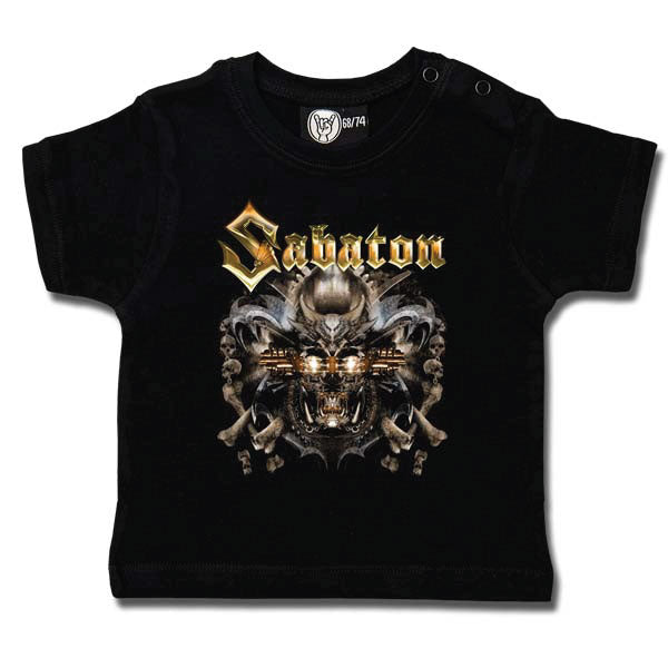Sabaton Baby T-Shirt - Metalizer