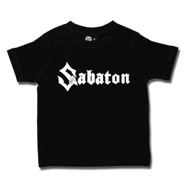 Sabaton Kids T-Shirt logo - black