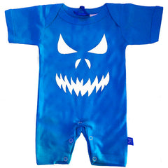 Scary Face Baby Romper by Stardust