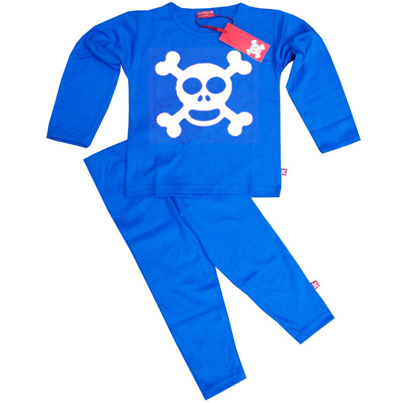 Skull and Crossbones Kids Pyjamas - Jolly Roger