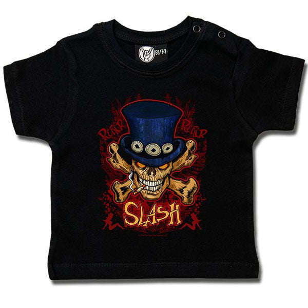 Slash Baby T-Shirt - Skull and Crossbones