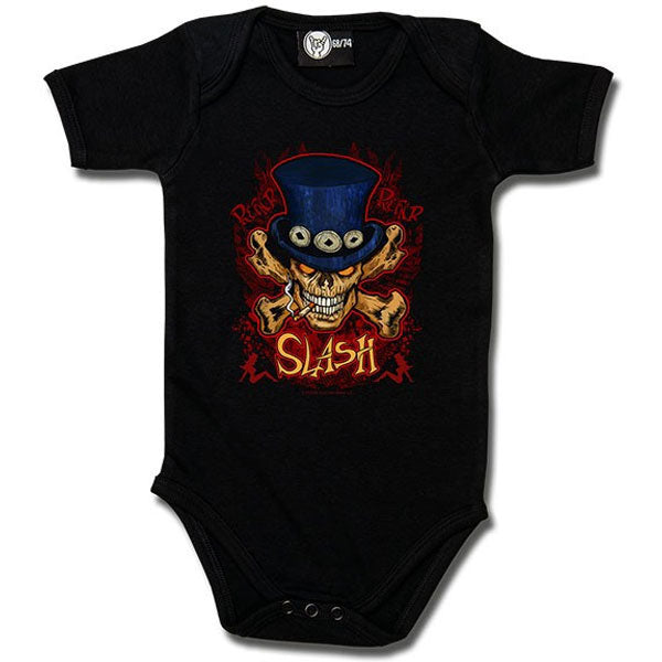 Slash Babygrow - Skull and Crossbones