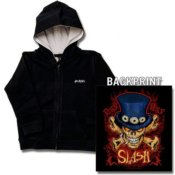 Slash Kids Hoody - Skull And Crossbones