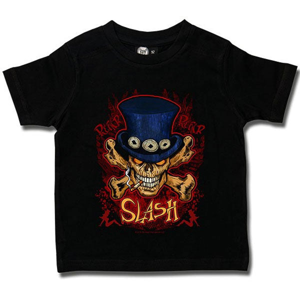Slash Kids T-Shirt - Skull and Crossbones