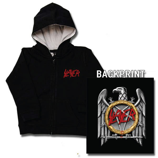 Slayer Baby Hoody - Silver Eagle