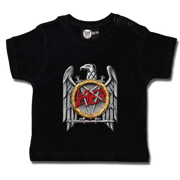 Slayer Baby T-Shirt - Silver Eagle
