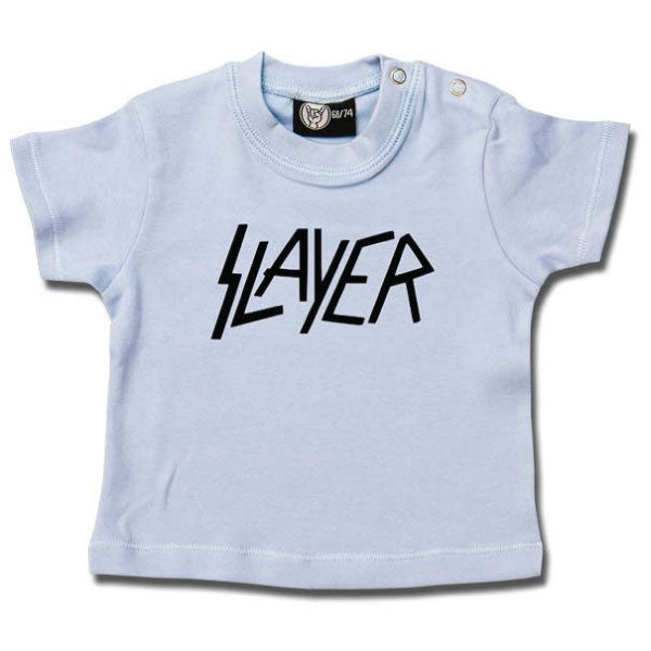 Slayer Baby T-Shirt Logo - Blue