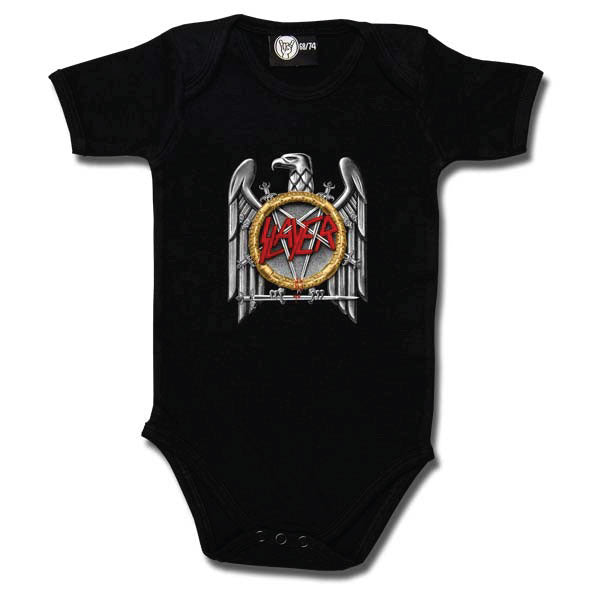 Slayer Babygrow - Silver Eagle