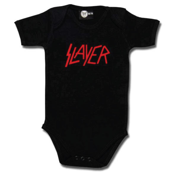 Slayer Babygrow Logo - Black/Red