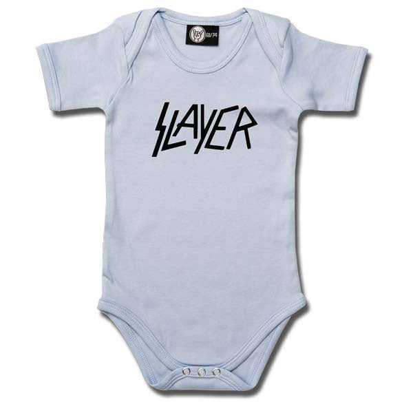 Slayer Babygrow Logo - Blue