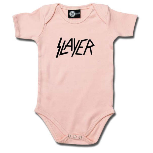 Slayer Babygrow Logo - Pink