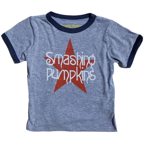 Smashing Pumpkins Kids T-Shirt by Rowdy Sprout