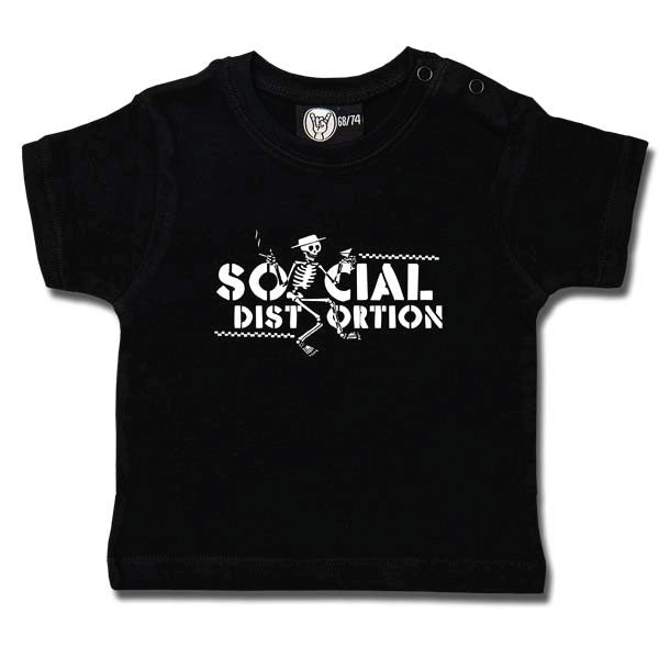 Social Distortion Baby T-Shirt - Logo