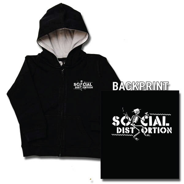 Social Distortion Kids Hoody - Logo
