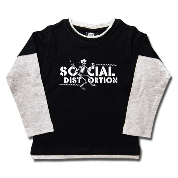 Social Distortion Kids Long Sleeve T-Shirt - Logo