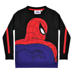 Spiderman Kids Sweatshirt - Spiderman Appliqué