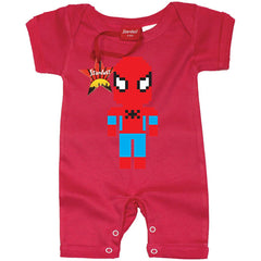 Lego Spiderman Baby Romper by Stardust