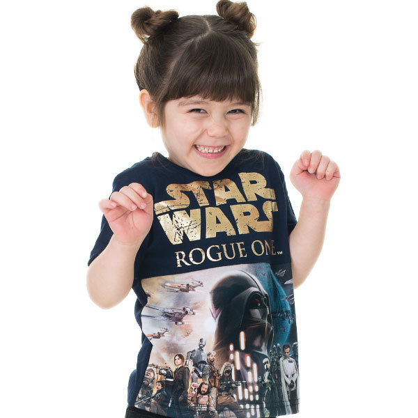 0f34b1c2 Star Wars Kids T-Shirt- Rogue One Poster – KidVicious.co.uk