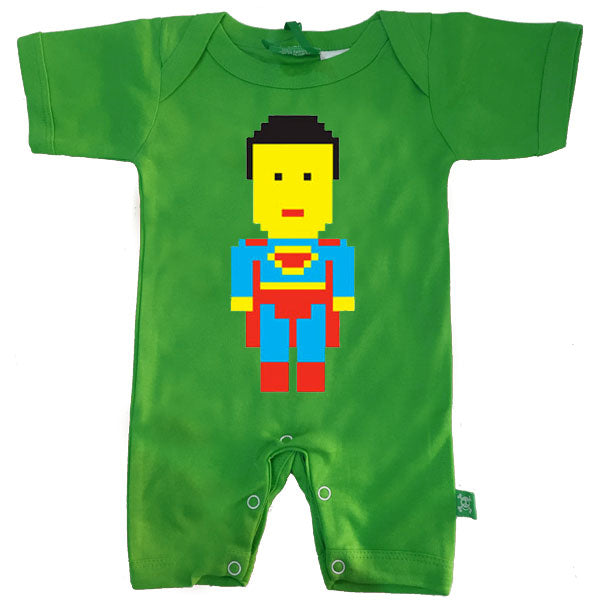 Superman Baby Romper by Stardust