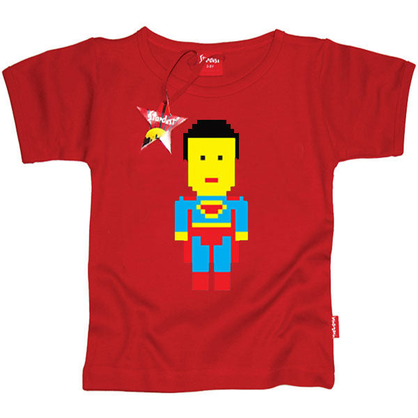 Lego Superman Kids T-Shirt by Stardust