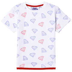 Superman Kids T-Shirt - Superman Logo Repeat
