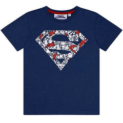 Superman Kids T-Shirt - Superman Elements Logo