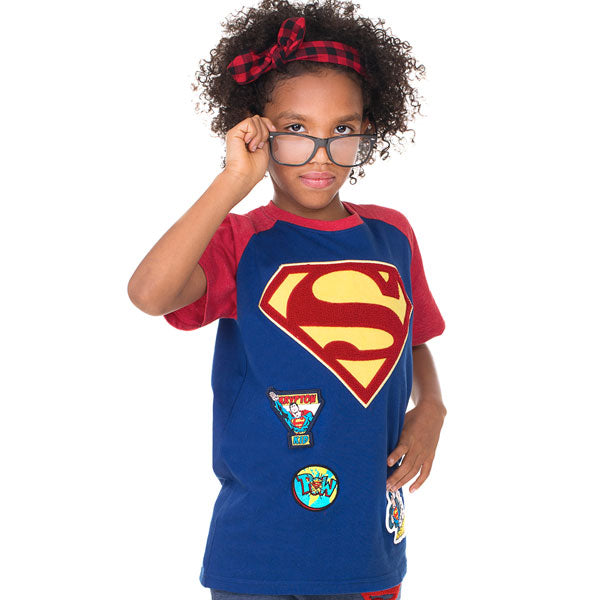 Superman Kids T-Shirt - Superman Logo Chenille