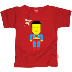 Superman Kids T-Shirt by Stardust