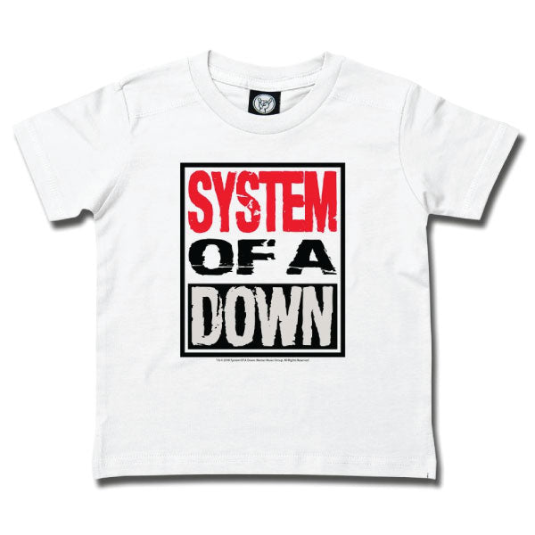 System Of A Down Kids T-Shirt - White