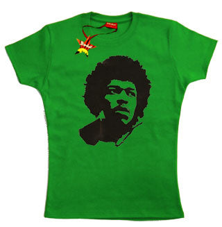 Jimi Hendrix Teenage Girls T-Shirt
