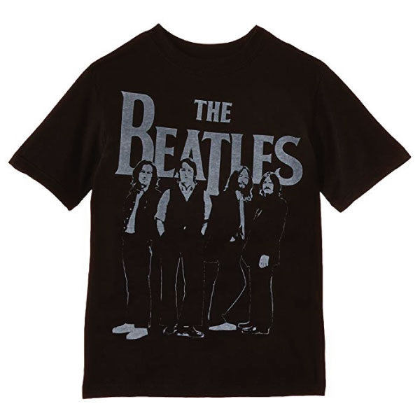 The Beatles Kids T-Shirt - Iconic Logo and Fab Four