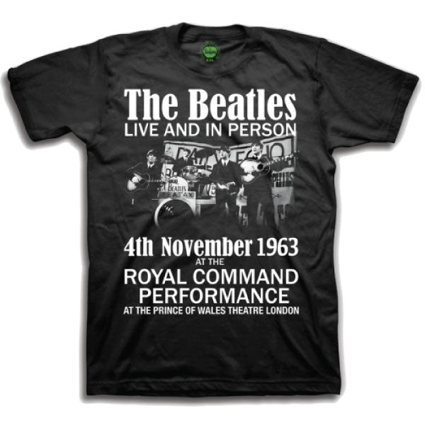 The Beatles Kids T-Shirt - Live And In Person