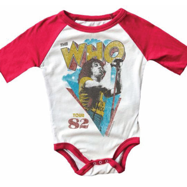 The Who Babygrow - 1982 Tour