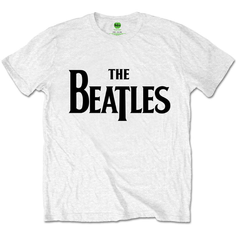 The Beatles Kids T-Shirt - Classic Beatles Logo - White T-Shirt