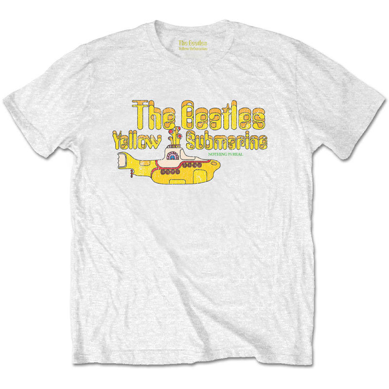 The Beatles Kids T-Shirt - Yellow Submarine - White T-Shirt