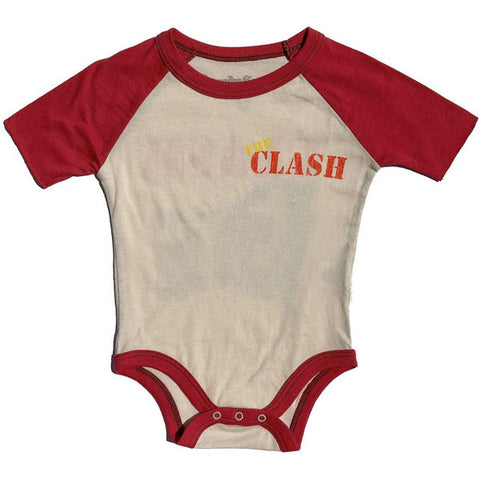 The Clash Babygrow - The Clash Hits Back by Rowdy Sprout