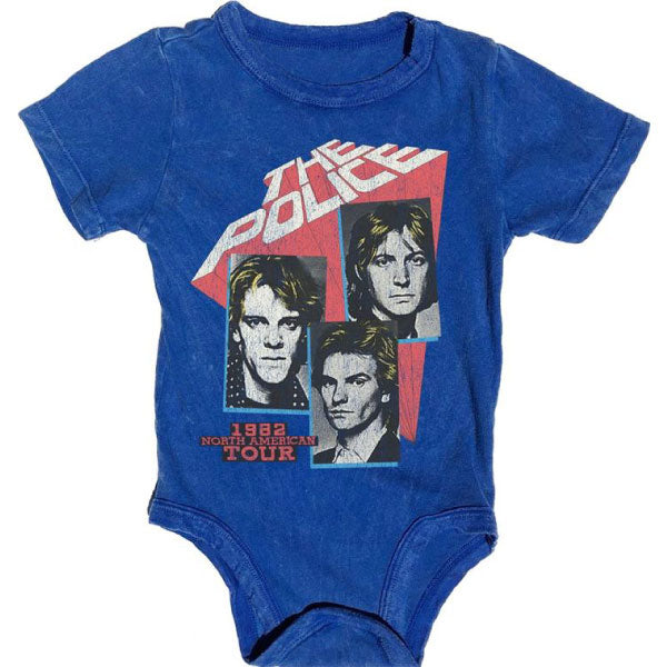 The Police Babygrow - 1982 North American Tour