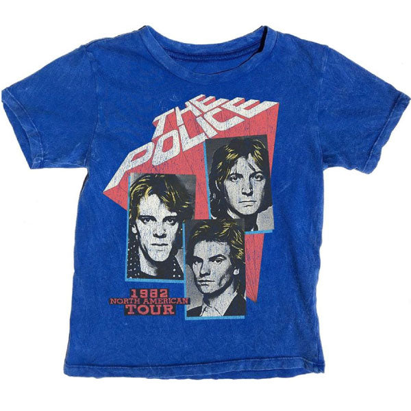 The Police Kids T-Shirt - 1982 North American Tour