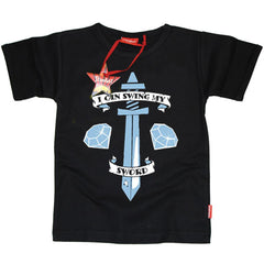 Tobuscus Inspired Kids T-Shirt - 'I Can Swing My Sword'