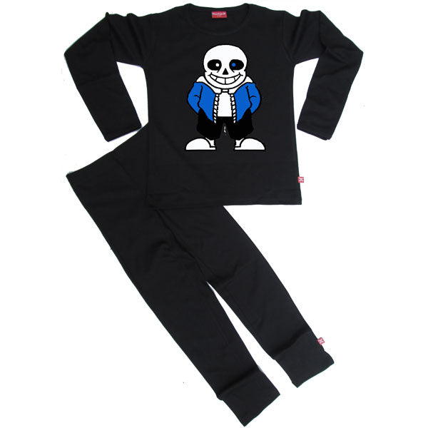 Undertale Sans Skeleton Kids Pyjamas