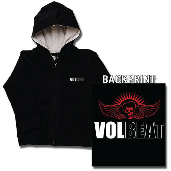 Volbeat Baby Hoody - Skull and Logo