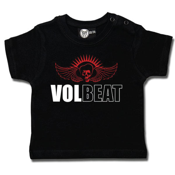 Volbeat Baby T-Shirt - Skull and Logo