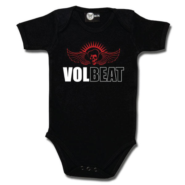 Volbeat Babygrow - Skull and Logo