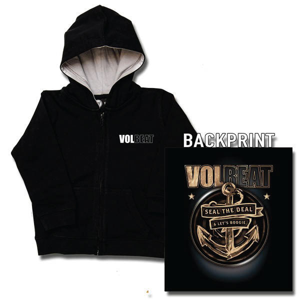 Volbeat Kids Hoody - Seal The Deal Anchor