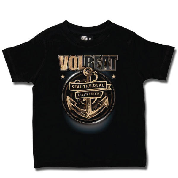 Volbeat Kids T-Shirt - Seal The Deal Anchor