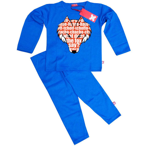 What Does The Fox Say Kids Pyjamas