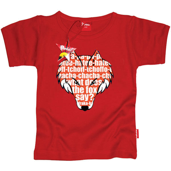 a9fbdbd759dc What Does The Fox Say - Kids T-Shirt – KidVicious.co.uk